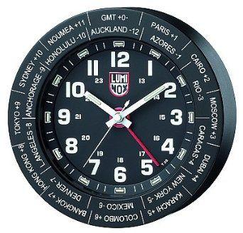 Luminox World Time Clock Black Anodized
