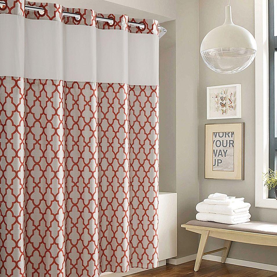 Hookless Monaco Shower Curtain Curtains Shower Curtain