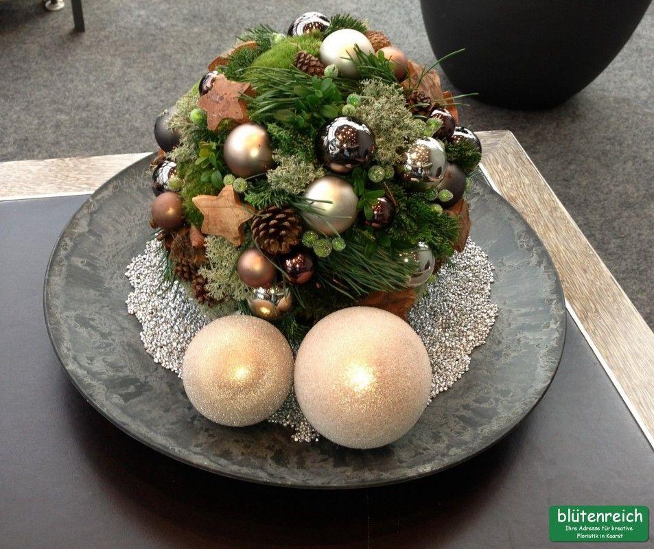 Bl tenreich kreative floristik kaarst dekoration f r for Weihnachtsideen dekoration