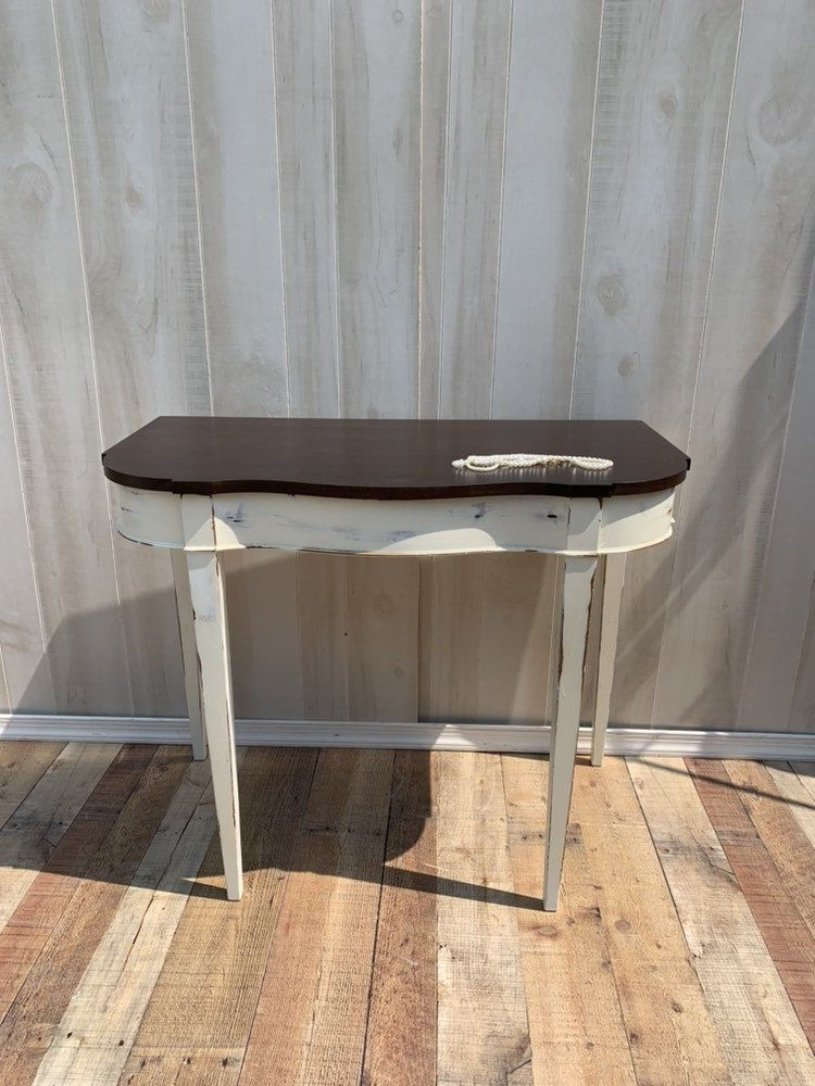 Strange Vintage Shabby Chic Table Accent Table Farmho Past Home Interior And Landscaping Palasignezvosmurscom