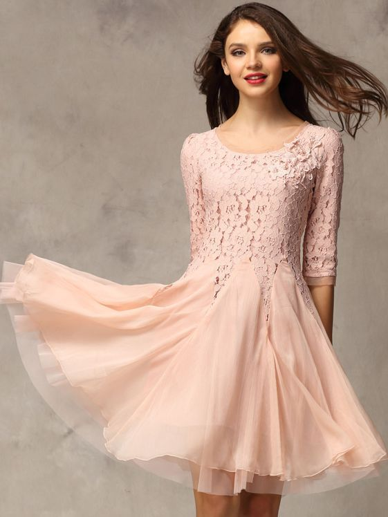 Timeless and Classic Lace Dresses with Sleeves | Beautiful ...