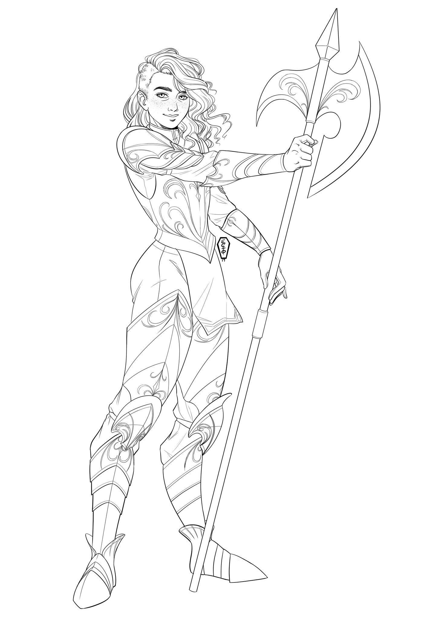 Amy On With Images Armor Drawing Paladin Armor Dnd Paladin