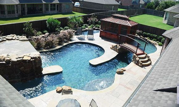 lazy river eugene lochman who runs a pool business in the dallas area says. beautiful ideas. Home Design Ideas