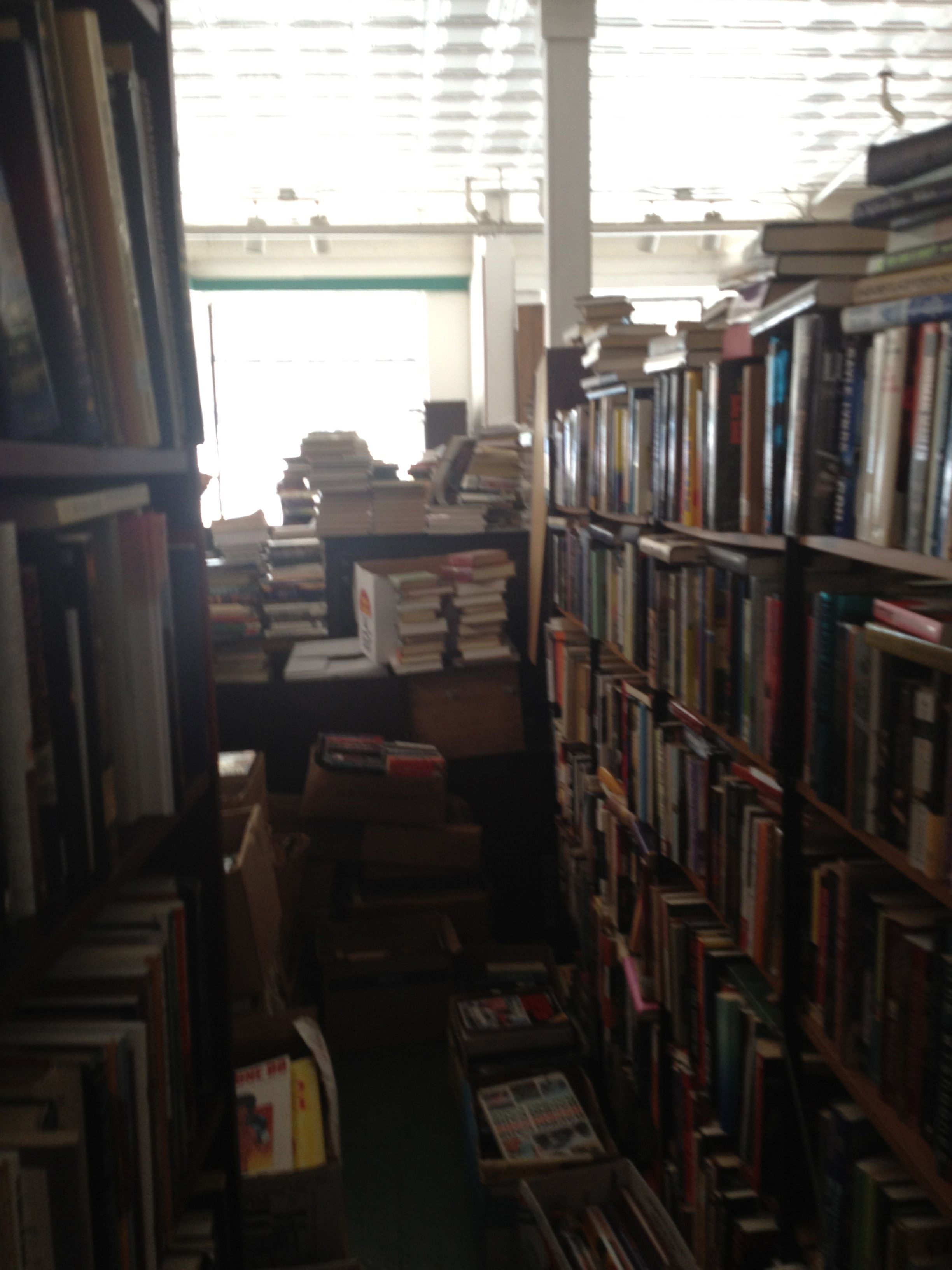 Real Live Piles Of Books! North Star Books, Lincolnton, Nc House Of