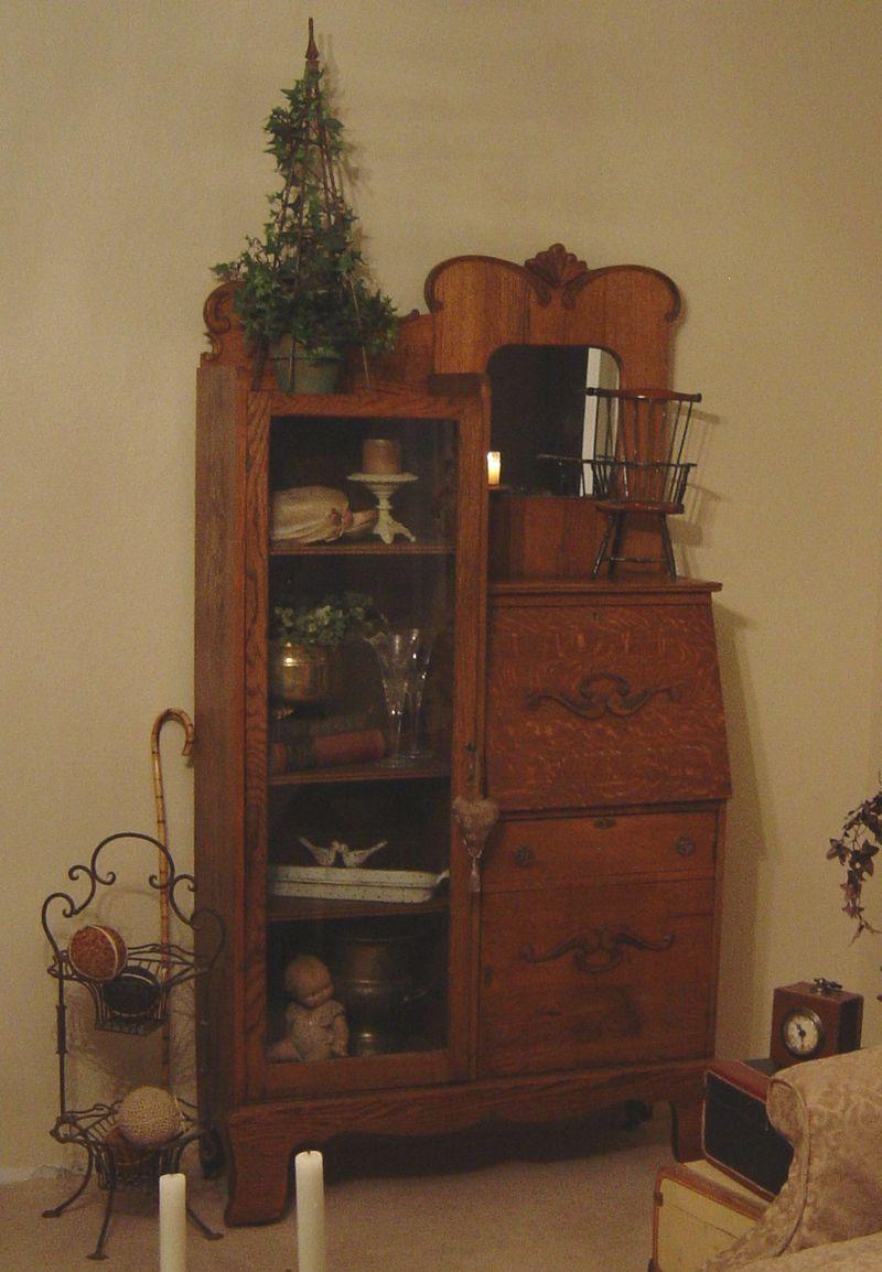 My antique secretary inherited from my grandma. - My Antique Secretary Inherited From My Grandma. Antiques