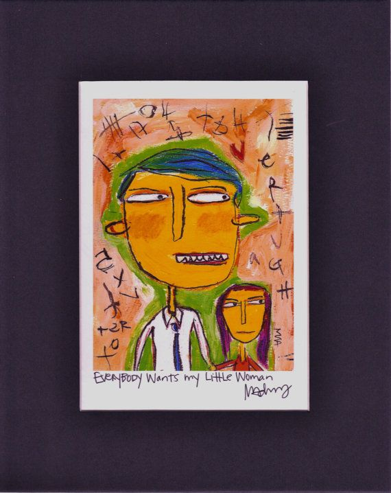 Everybody Wants My Little Woman   quirky by MurphyAdamsStudio, $20.00