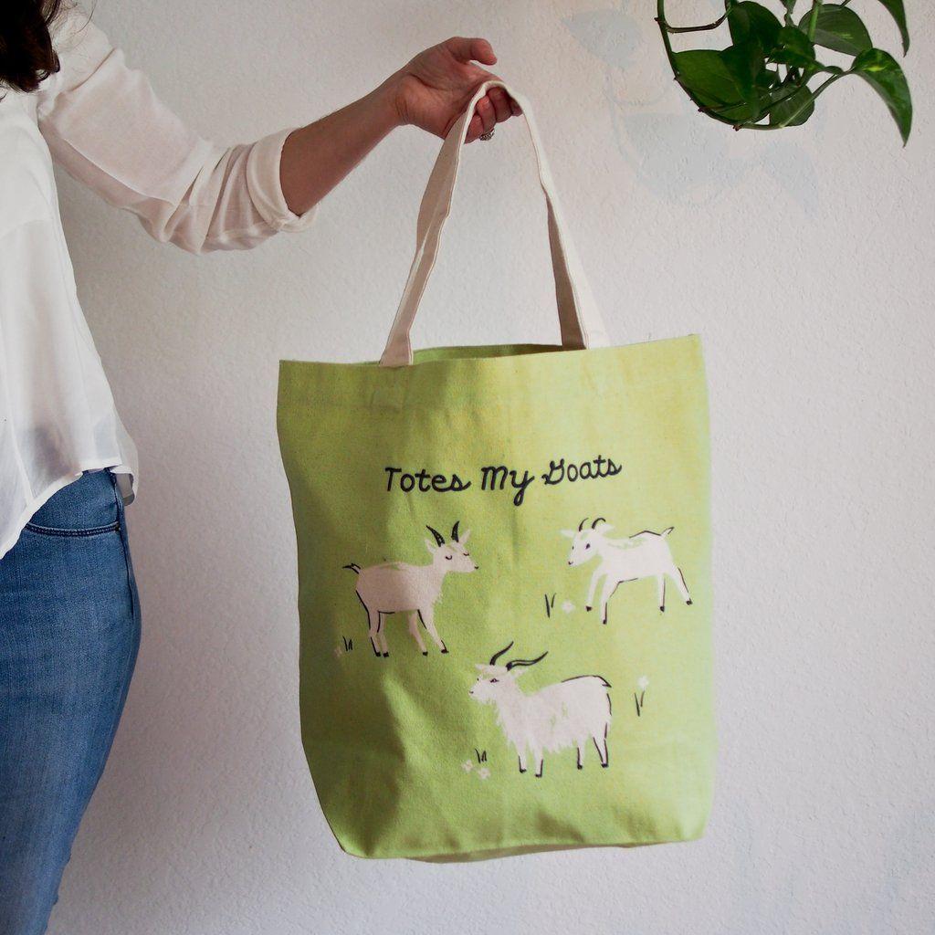 Goat Tote Bag Tote bag, Tote, Bags