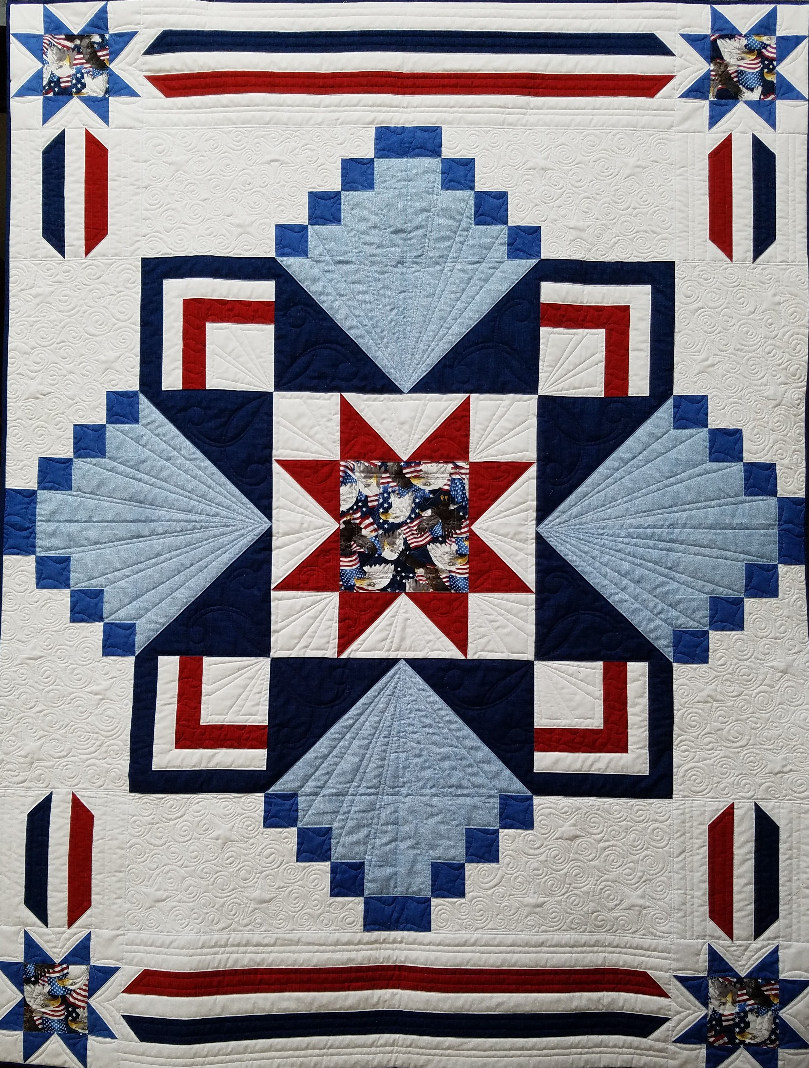 Qov Mystery Pattern Mystery Quilt Quilts Quilt Of Valor