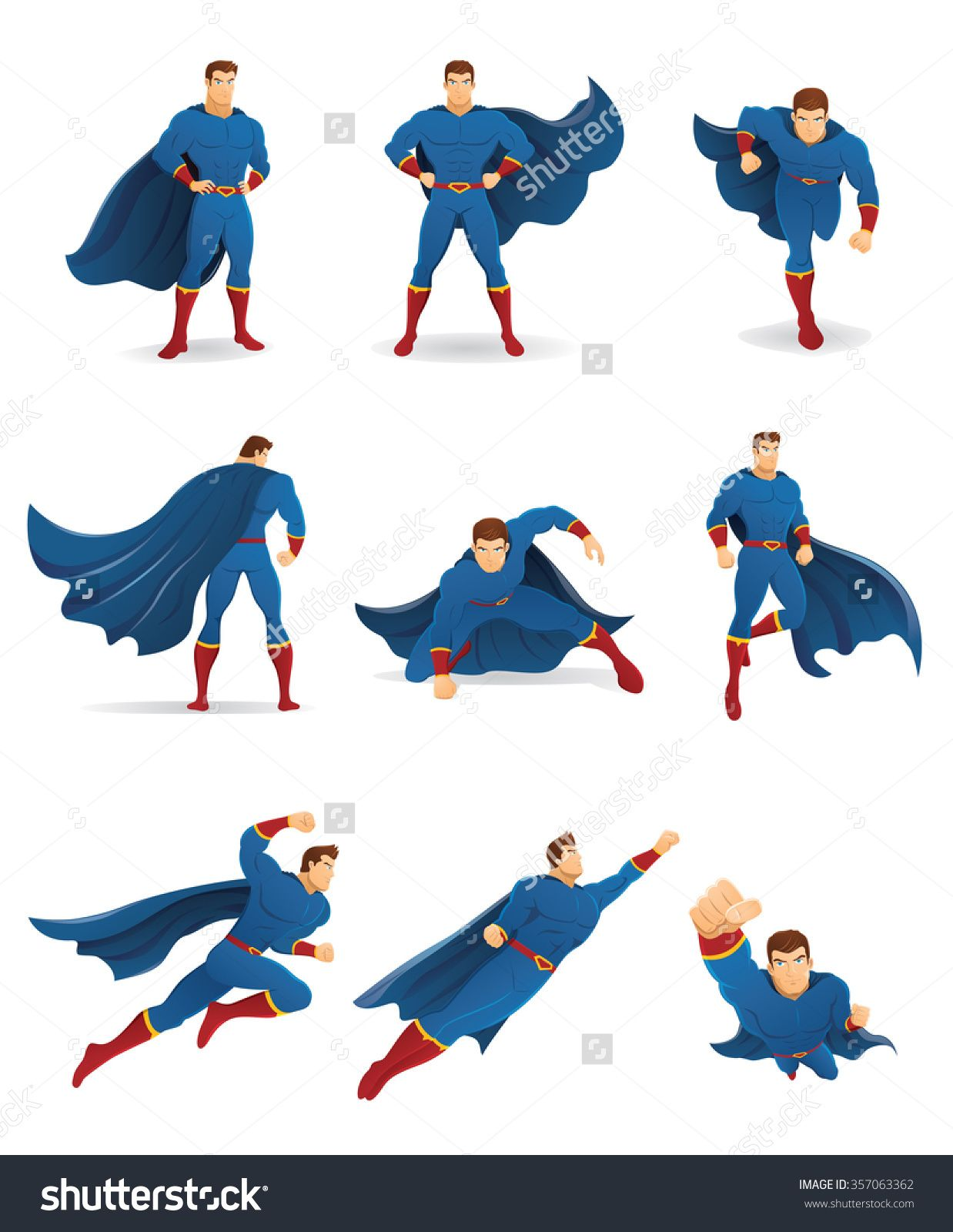 Super Character Design Poses Pdf : Superhero poses reference s�k p� google character