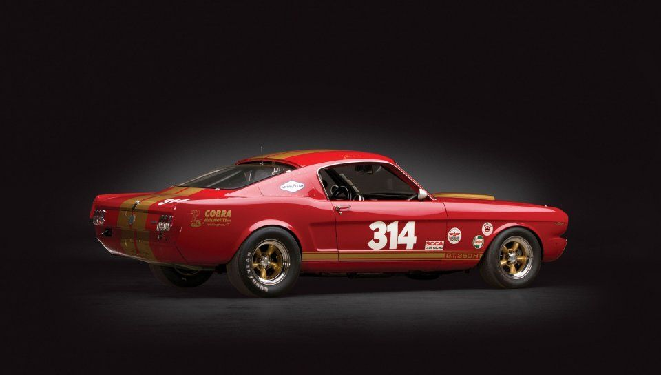1966 Shelby GT350, sports lines, side view wallpaper
