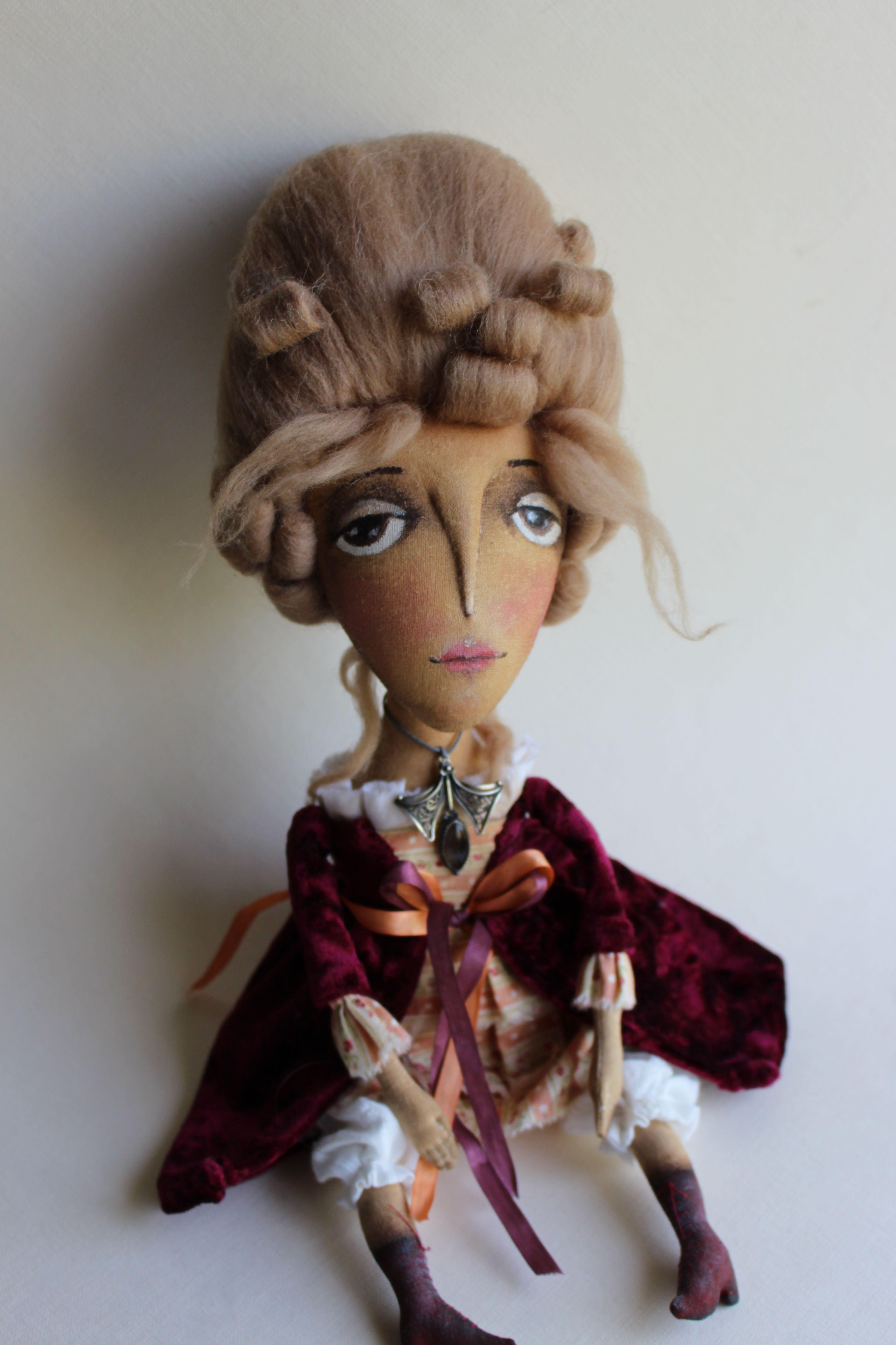 """Текстильная куколка """"Анастасия"""",автор Старовойтова Юлия,Blume"""