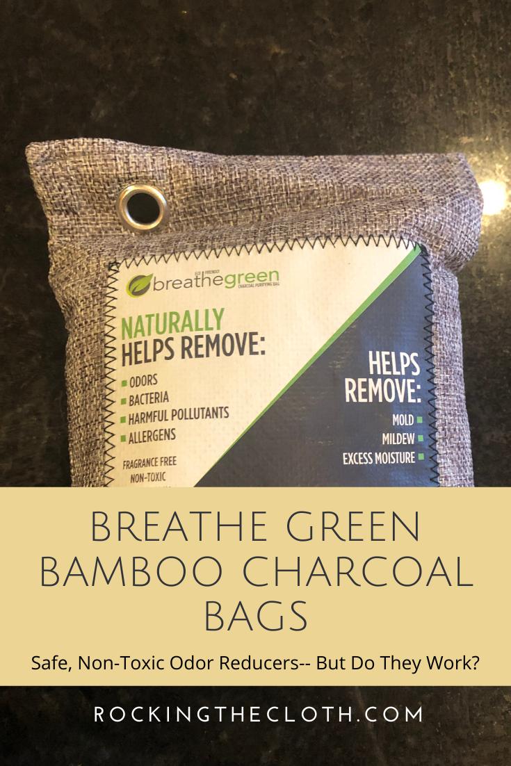 Breathe Green Bamboo Charcoal Bags Review NonToxic Odor