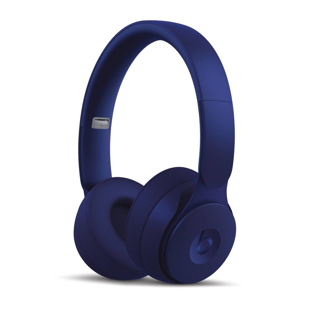 Beats Solo Pro On Ear Wireless Headphones More Matte Collection Dark Blue In 2020 Noise Cancelling Headphones Wireless Noise Cancelling Headphones Wireless Headphones