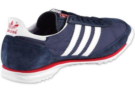 Adidas SL 72 Shoe | back Home Adidas SL 72 shoes blue red white