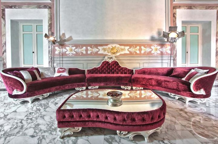 salon de luxe bordeaux intrieur chic pinterest mauve bordeaux and decoration - Un Salon De Luxe