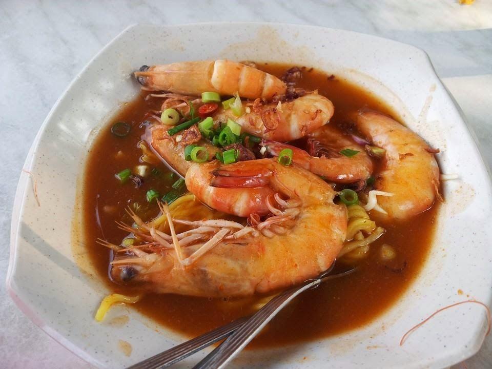 Mee Udang Mak Jah Kuala Sepetang Ethnic Recipes Food Prawn