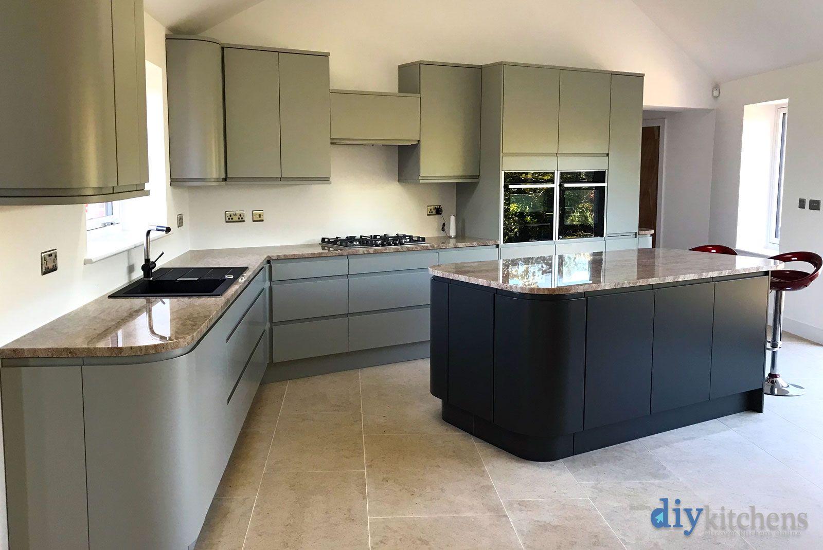 An Innova Luca Grey High Gloss Kitchen Kitchen Decor Modern Diy Kitchen High Gloss Kitchen