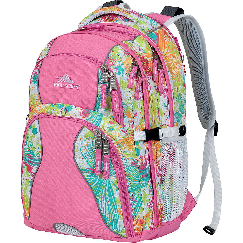 high sierra swerve laptop backpack womens ebags