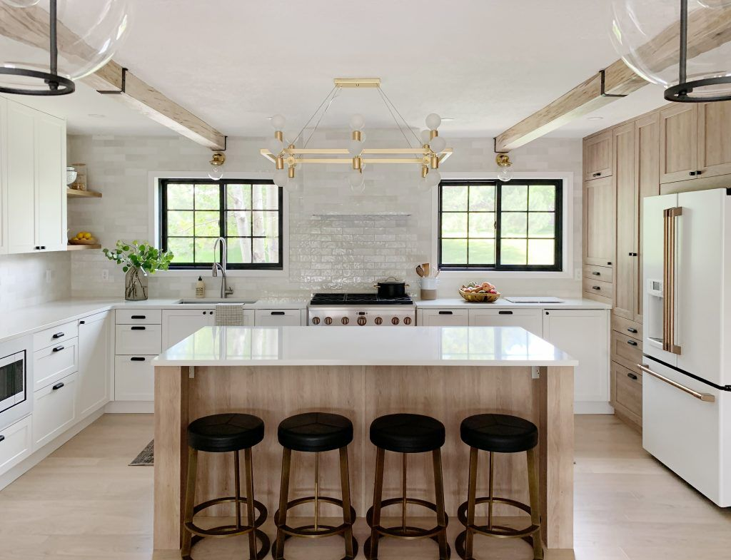 The Fullmer Kitchen Reveal Sources All The Before And Afters Modern Kitchen Design Budget Kitchen Makeover Kitchen Design