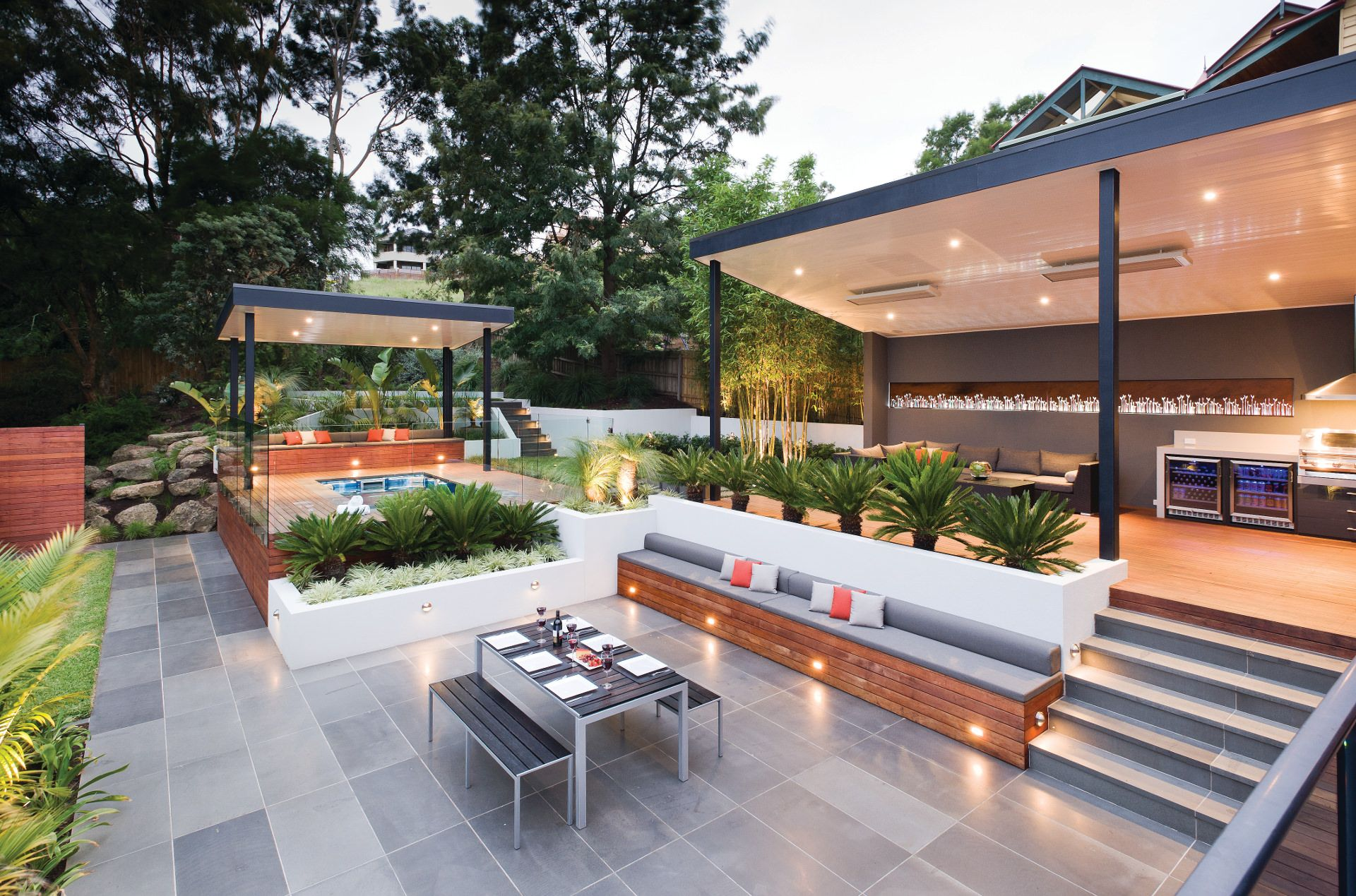 Landscape Design Melbourne Part 2 - Pool Landscape Design | Pools ...