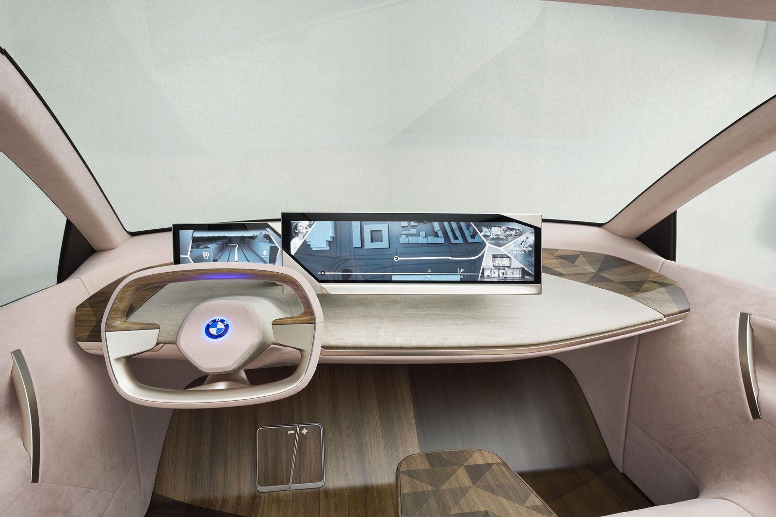 Bmw Vision Inext Concept Interior Design Concept Car Design Car