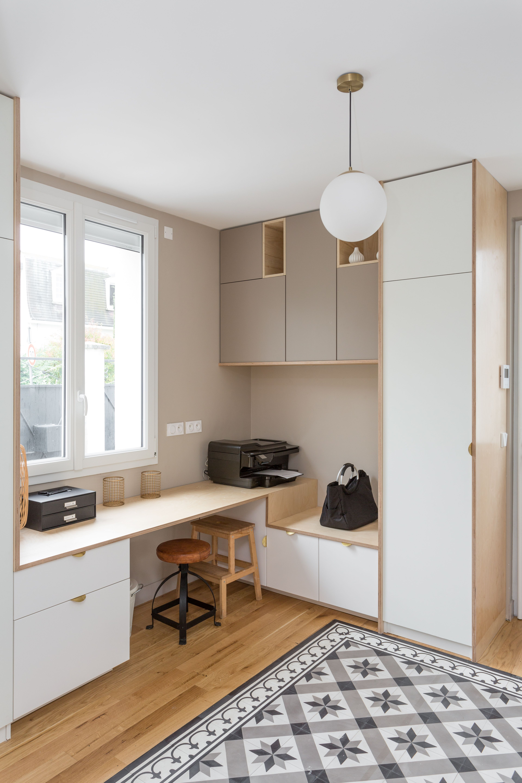 Office par zsa gabriel en 11  Meuble de cuisine ikea, Deco