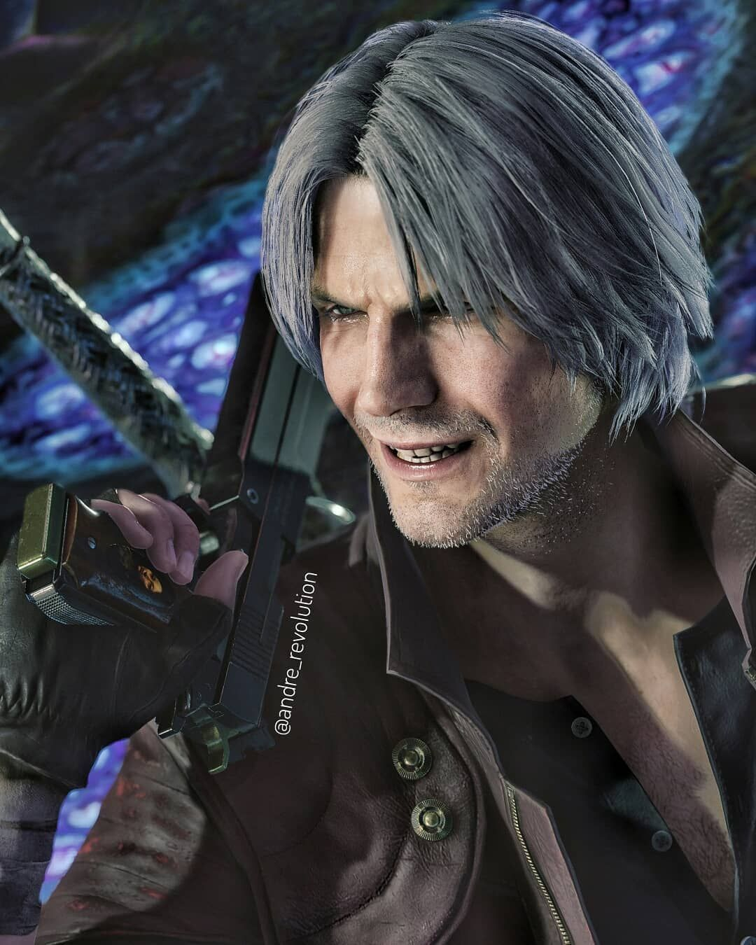 Pin On Imagens Dante devil may cry 5 wallpaper hd