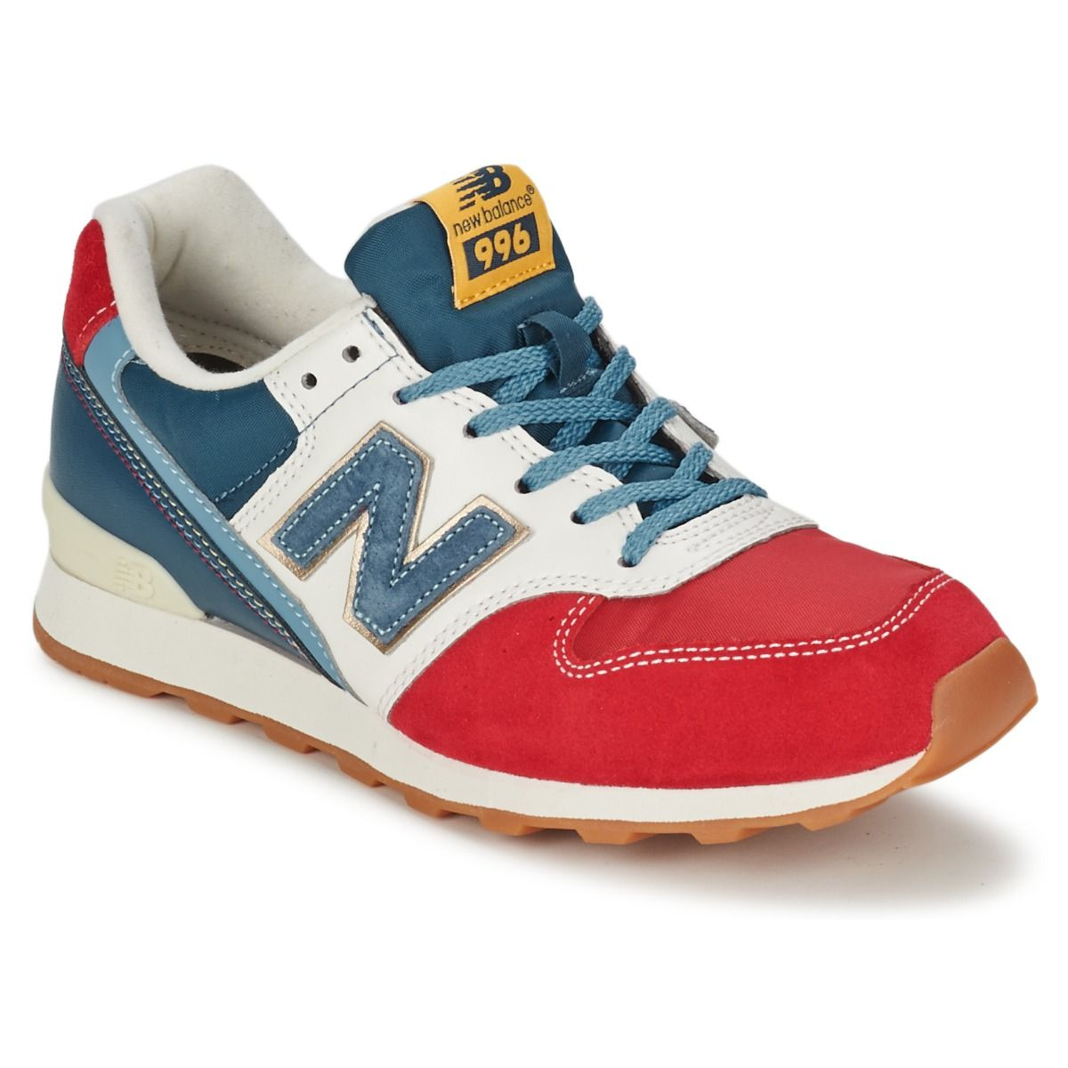 Baskets Femme Spartoo, promo Baskets basses New Balance WR996 Blanc ...