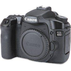 Amazon Com Canon Eos 40d 10 1mp Digital Slr Camera Body Only Camera Photo Camera Accessories Canon Camera Digital Slr