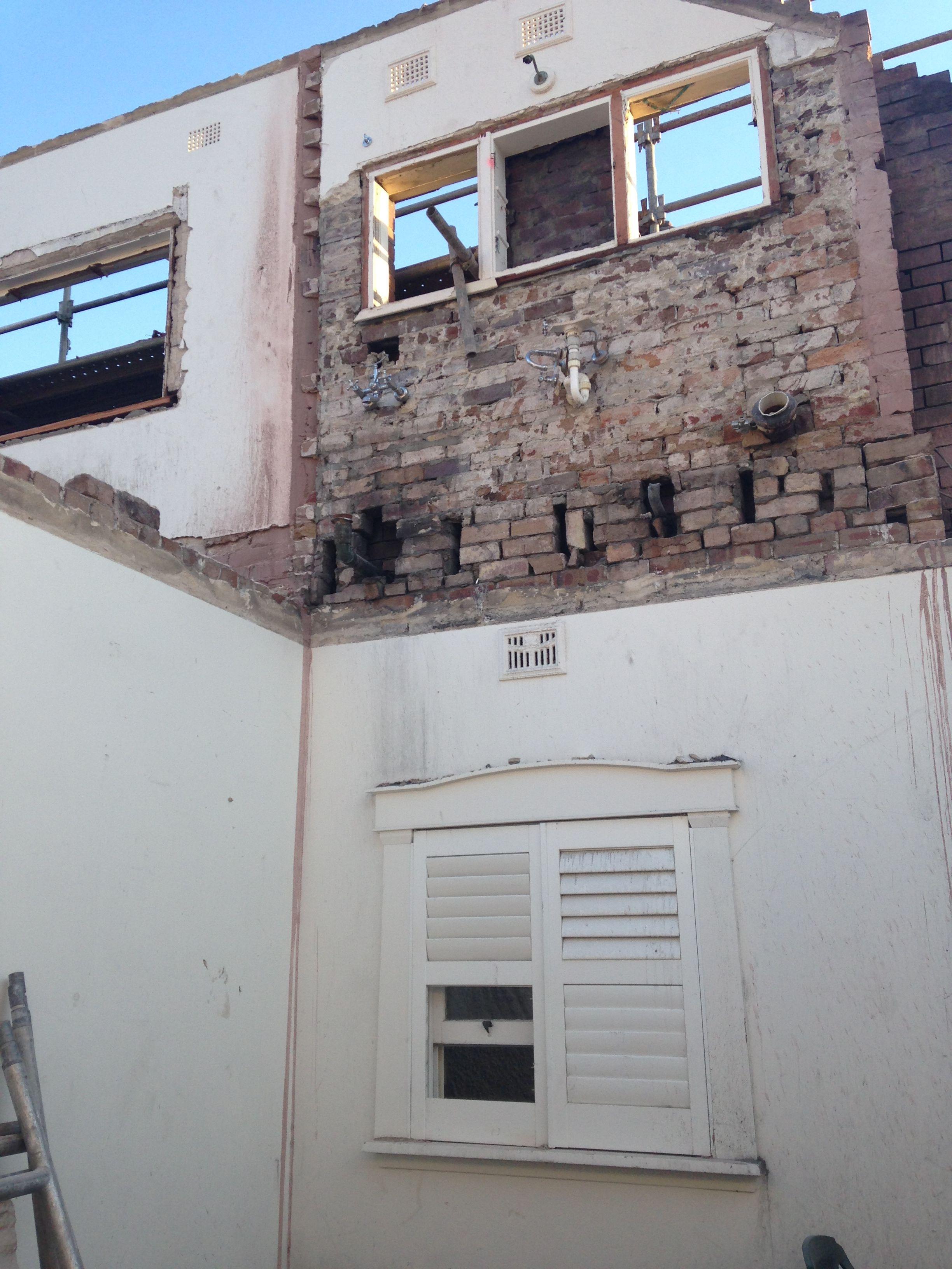 Project update: Demolition - Ground Floor Front Living ...