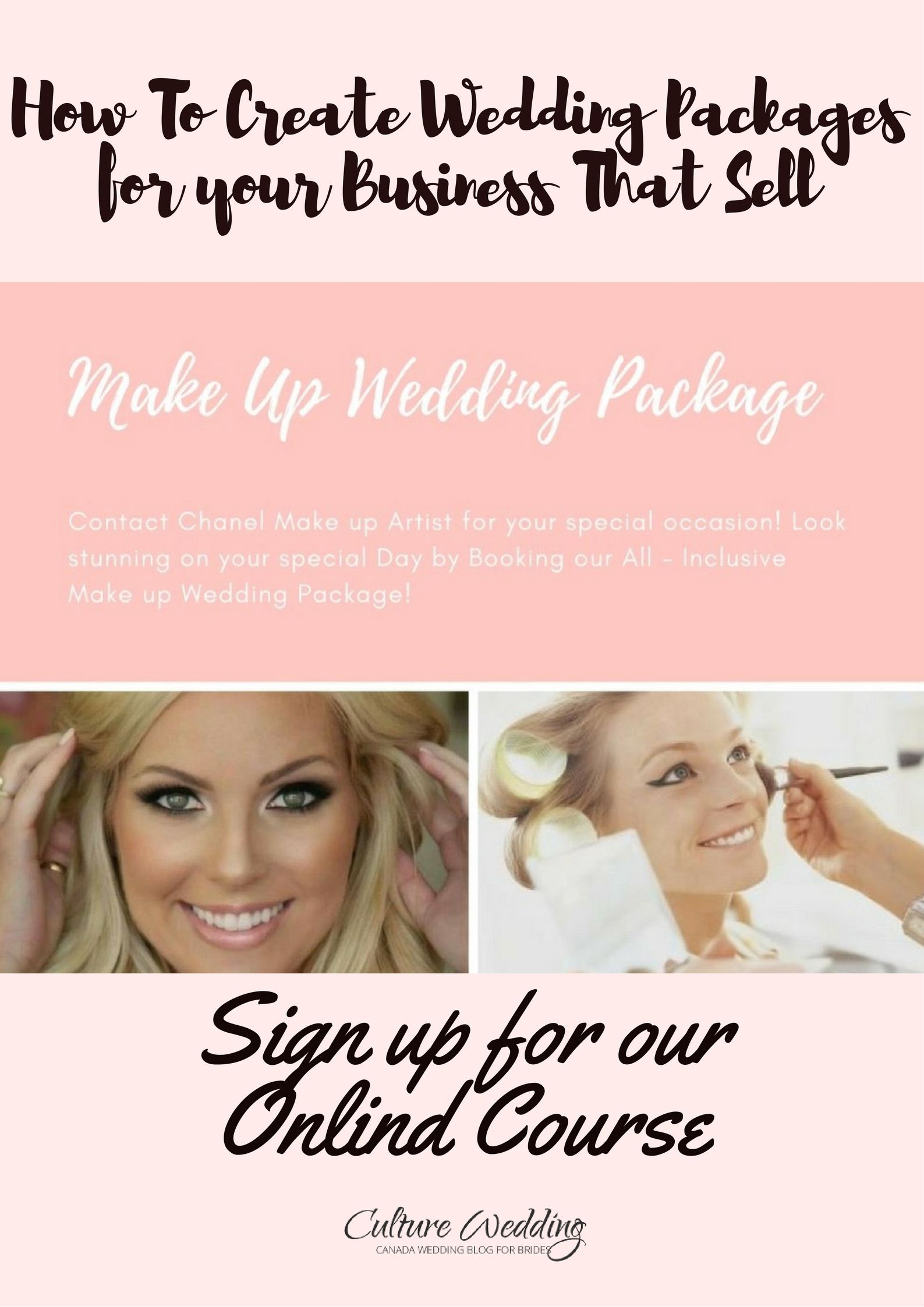 How To Create Wedding Packages For Your Business That Sell