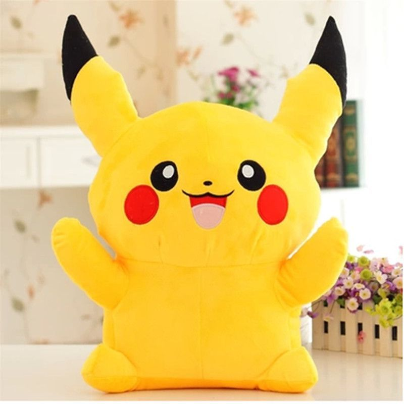 Pokemon plush toys for children large anime yellow Pikachu doll birthday gift 18inch 45cm