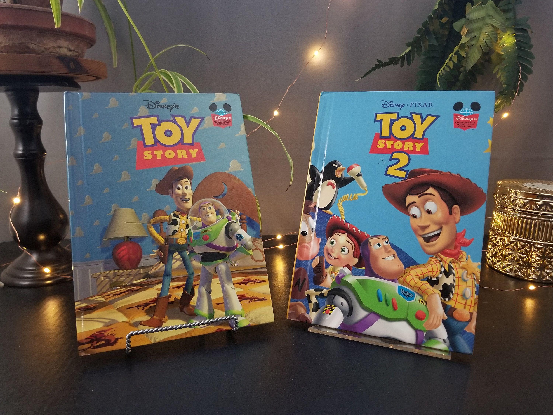Disneys toy story and disneypixar toy story 2 books
