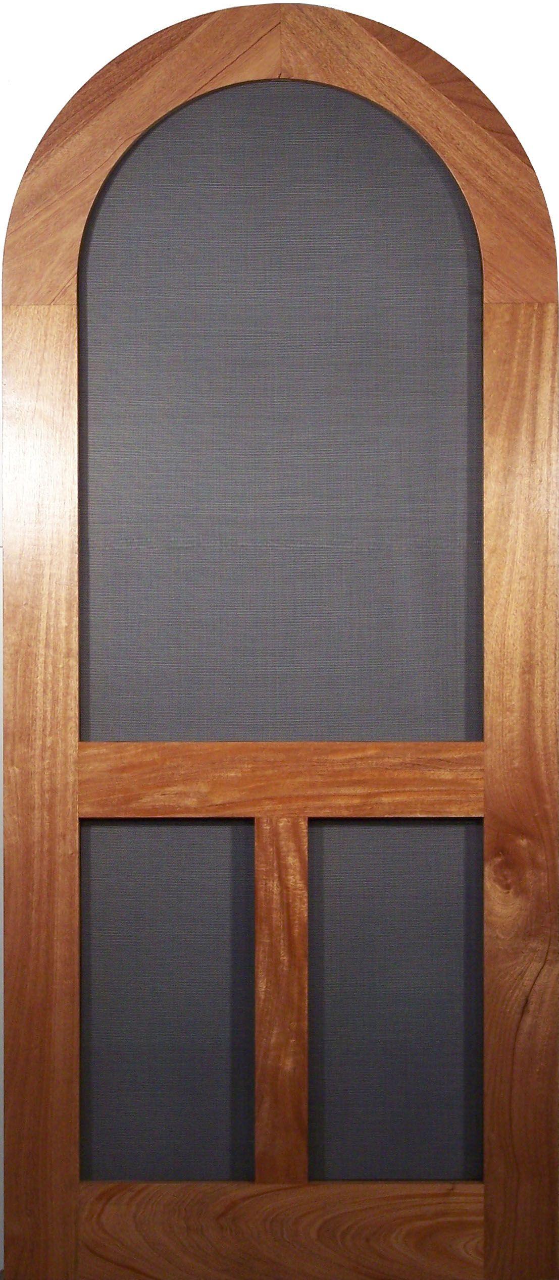 Round Top Screen Storm Door Old Fashion Model Vintagedoors