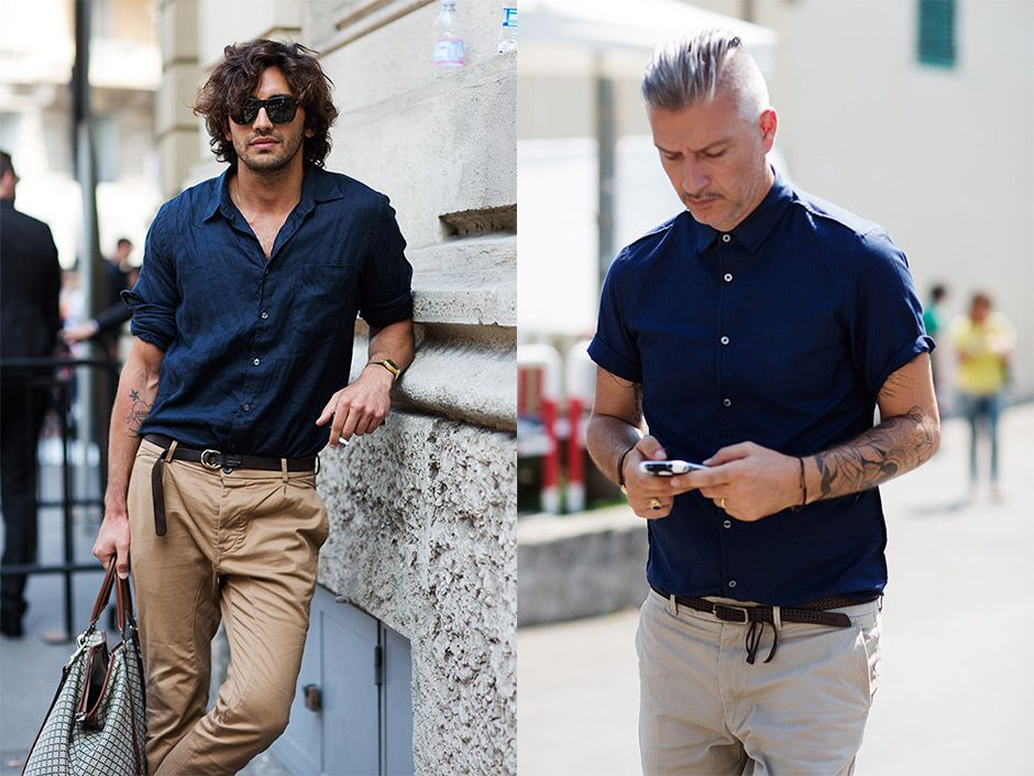 If You're Thinking About……The Perfect Summer Outfit for A Man « The Sartorialist