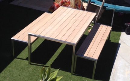 Custom Made Outdoor Dining Table Outdoor Dining Furniture