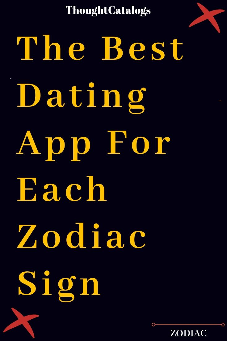 The Best Dating App For Each Zodiac Sign (With images