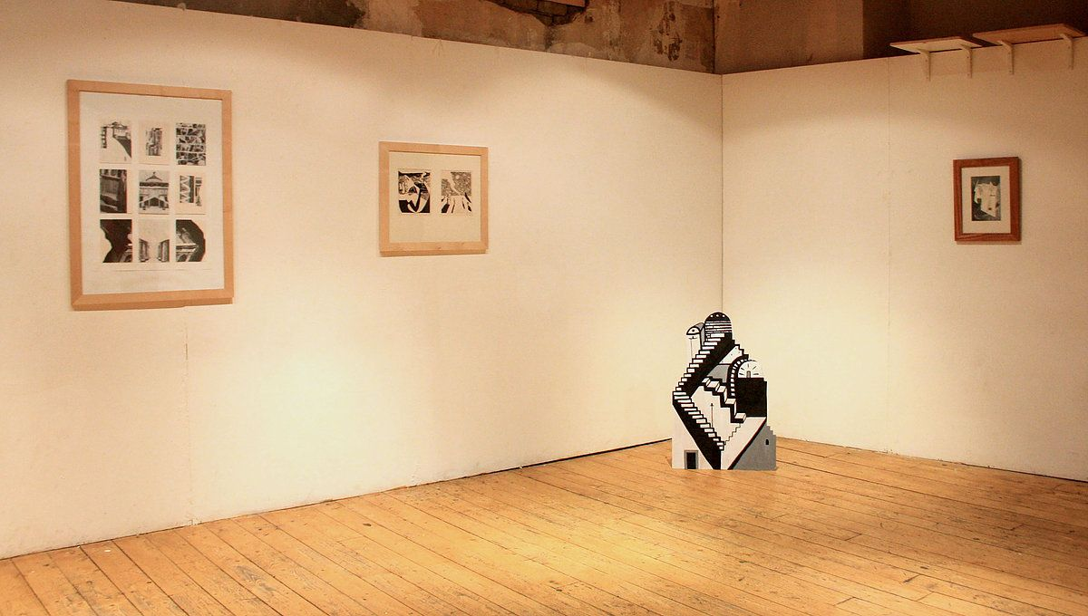 Kate Timney | Beaumont Press Book Launch & Exhibtition | Jan '16 | The Old Hairdresser's