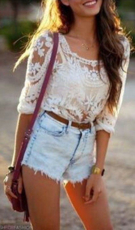 Baroque lace tee from express