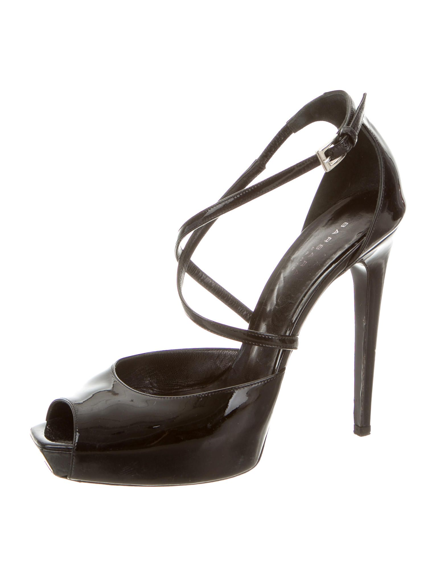 Barbara Bui Patent Leather Peep-Toe Pumps from china cheap online Cheapest online buy cheap low shipping gNdh9jD