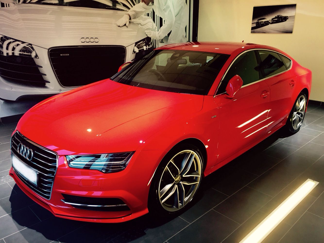 2015 audi a7 in misano red garage pinterest audi a7 audi and dream cars. Black Bedroom Furniture Sets. Home Design Ideas