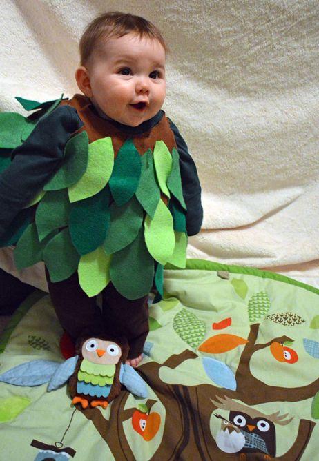 Forest Spirit Costume baby grow
