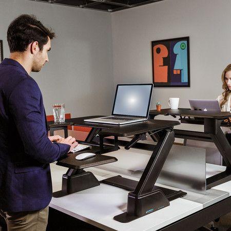 Eureka Ergonomic Height Adjustable Standing Desk 36 Inch Wide