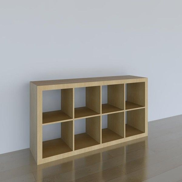 i purchased this ikea expedit 2x4 in the birch finish to