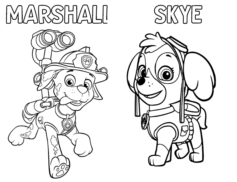 Paw Patrol Coloring Activity Book Free To Use Ellierosepartydesigns Com Paw Patrol Coloring Paw Patrol Party Games Paw Patrol Coloring Pages