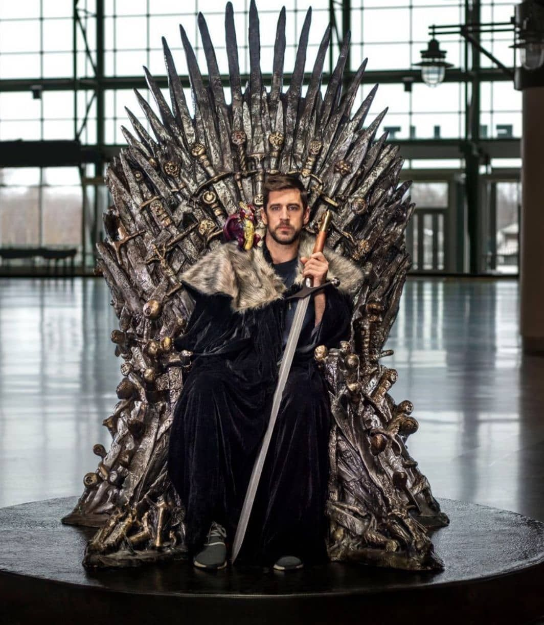 Rodgers Will Appear On The Next Episode Of Game Of Thrones Gopackgo Packers Greenandgold Aaron Rodgers King In The North Green Bay Packers