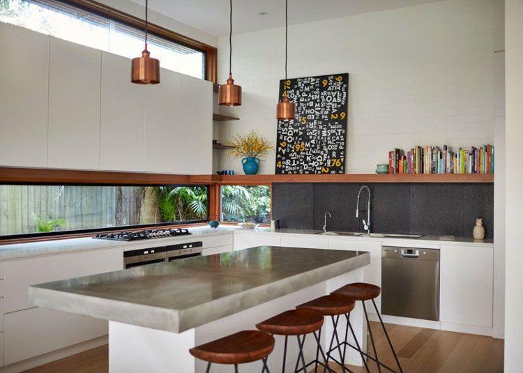 Top Piano Cucina In Cemento.Top Per Cucine In Cemento 20 Piani Di Lavoro Dal Design