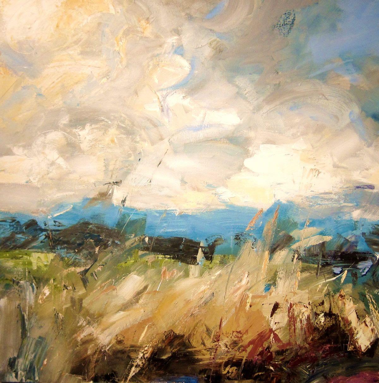 Paul Treasure Cover Oil on Canvas 100 x 100 cm