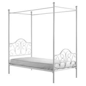 We Furniture Metal Twin Canopy Bed White By Kidsfu I Had One Similar To This