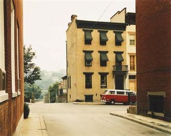 STEPHEN SHORE  Church Street and Second Street, Easton, Pennsylvania, June 20, 1974